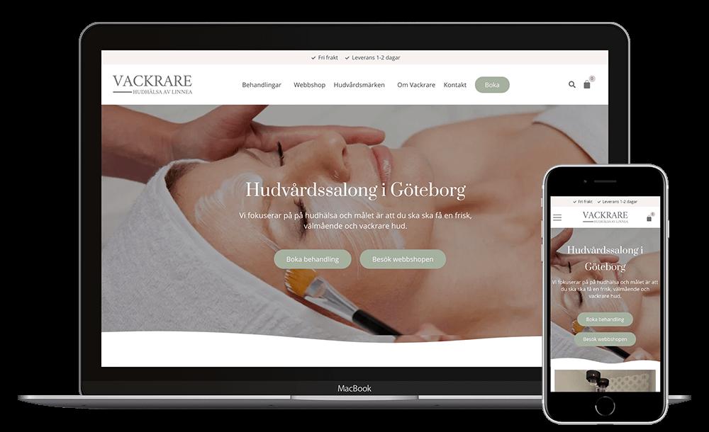 Webbplats för Vackrare